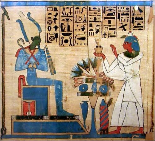 """O - Dans la mythologie égyptienne, le dieu """"Osiris"""" était le frère et l'époux d'Isis."""