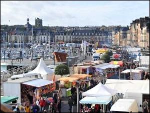 Que fête-t-on en novembre à Dieppe ?
