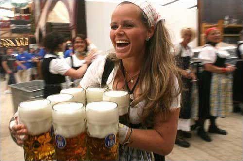 Dans quelle grande ville allemande se tient en octobre, pendant deux semaines, cette fête de la bière ?