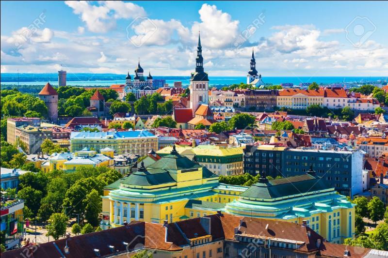 Quelle est la capitale de l'Estonie ?