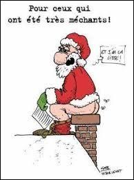 Blague sur la fête de Noël !