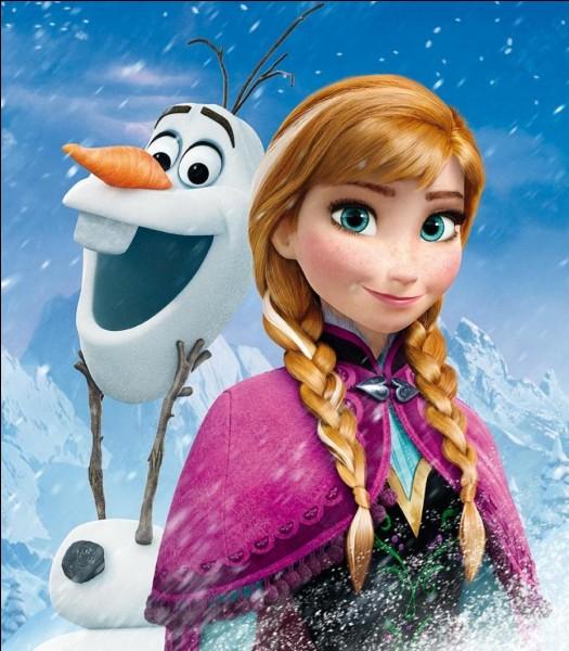 Pourquoi Anna a-t-elle une mèche blanche ?
