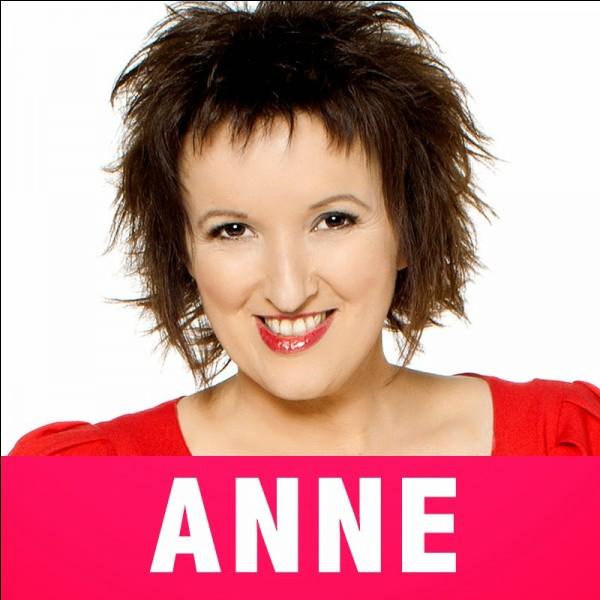 Quand est née Anne Roumanoff ?