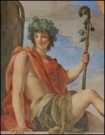 Dans la mythologie grecque qui était le dieu de la fête ?