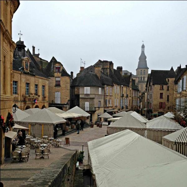 Quelle cité périgourdine organise, à la mi-janvier, une grande fête autour de ses deux produits gastronomiques phares que sont la truffe et le foie gras ?