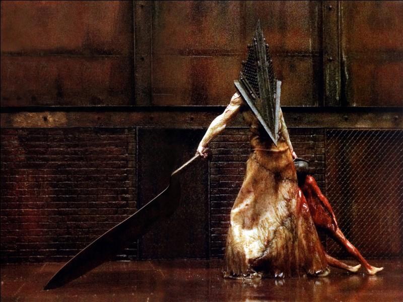 """""""Pyramid Head"""" est le monstre sorti de l'inconscient de James, dans la saga """"Silent Hill"""". Quelle est la fonction principale de cette charmante créature ?"""