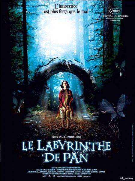 """Quelle créature ne voit-on pas dans """"Le labyrinthe de Pan"""" de Guillermo del Toro?"""