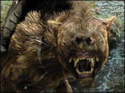 """Comment se nomment ces créatures, chevauchées par des orques dans la saga du """"Hobbit"""" ?"""