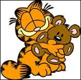 Garfield est un chat qui adore les lasagnes.