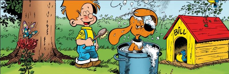 """Caporal est le chat de la voisine dans """"Boule et Bill""""."""