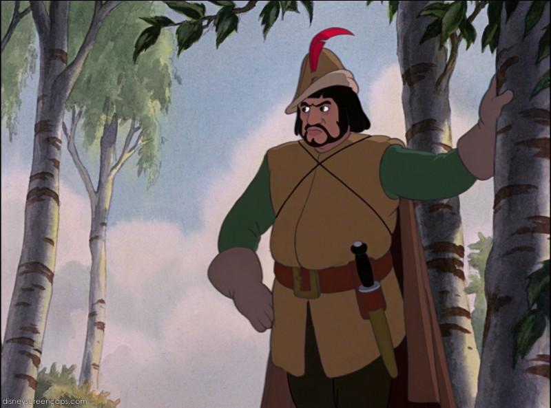 """Comment se nomme le chasseur dans """"Blanche-Neige"""" ?"""