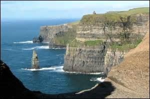Comment s'appellent ces célèbres montagnes situées au nord de l'Irlande ?