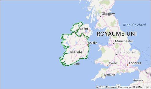 Quels sont les autres noms de l'Irlande ?