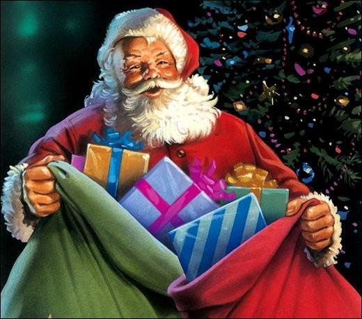 Ça y est, le père Noël est _____ pour sa tournée. Il l'a préparée pendant toute une année.