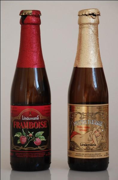 La Framboise est un type de bière dans laquelle on fait fermenter des framboises.