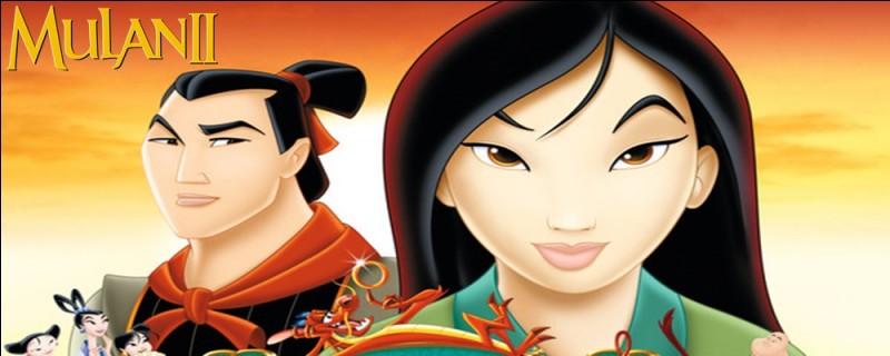 Quelle mission l'empereur de Chine donne-t-il à Mulan et Shang ?