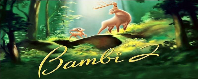 Comment le jeune cerf arrogant, qui se moque de Bambi, se nomme-t-il ?