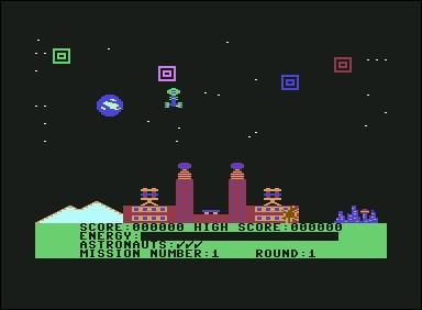 Dans ce jeu sorti en 1983 vous défendez votre planète contre des créatures. A bord de votre jetcopter, vous traversez également des tunnels pour rejoindre d'autres endroits à défendre.