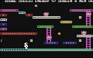 Quel est ce jeu de 1984 où le joueur dirige un humanoïde qui doit parcourir toute son usine en évitant où tuant les monstres ?