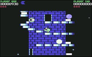 Dans ce jeu sorti en 1987, le joueur contrôle une petite créature verte nommée Pogo dont la mission est de détruire huit tours construites au-dessus de la mer.