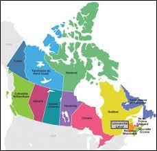 De combien de provinces est composé le Canada ?
