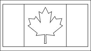 Quelles sont les deux couleurs du drapeau canadien ?