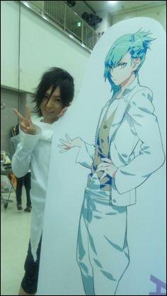 """On sait qu'il a été le seiyuu de Ai dans """"Uta no Prince-sama"""", mais de quel autre personnage a-t-il également été le seiyuu ?"""