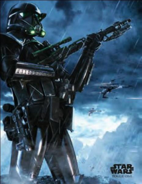 Ils sont noirs, comme Dark Vador ils n'ont pas de sabre laser mais ils ont des armes à feu : qui sont-ils ?