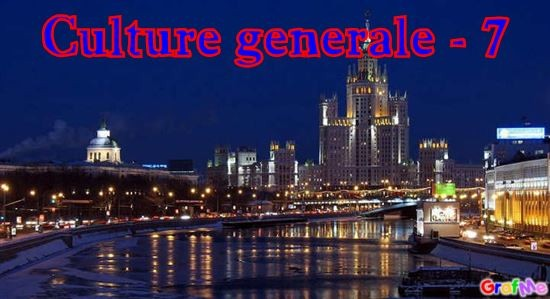 Culture générale - 7
