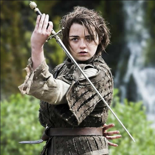 Que dit Arya à Dame Cigogne ?