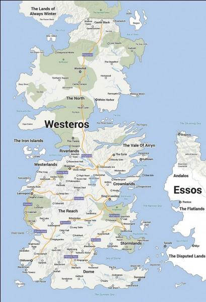 Quelle maison a le plus grand territoire ?