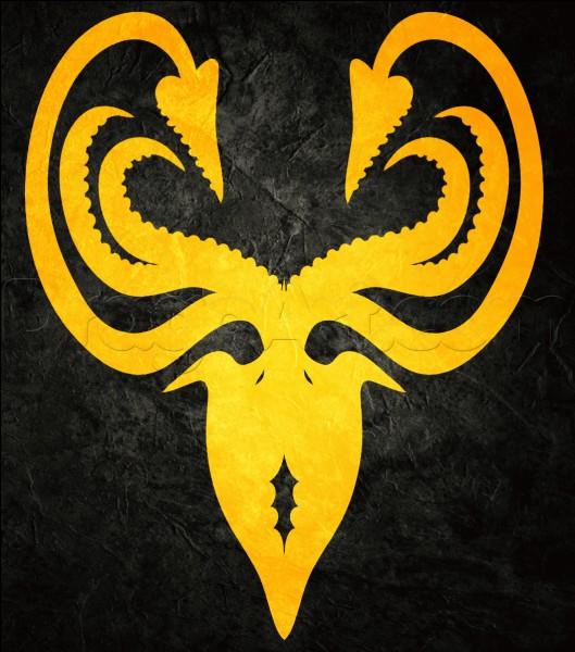 Cochez les bonnes infos sur la maison Greyjoy :