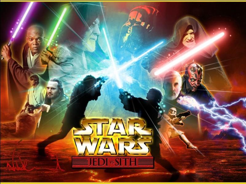Je suis une arme que les Jedi utilisent ainsi que les Sith. Que suis-je ?