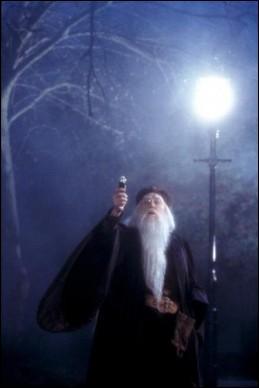 Où se trouve Dumbledore ?