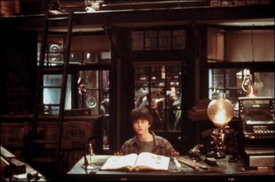 Où se trouve Harry sur cette image ?