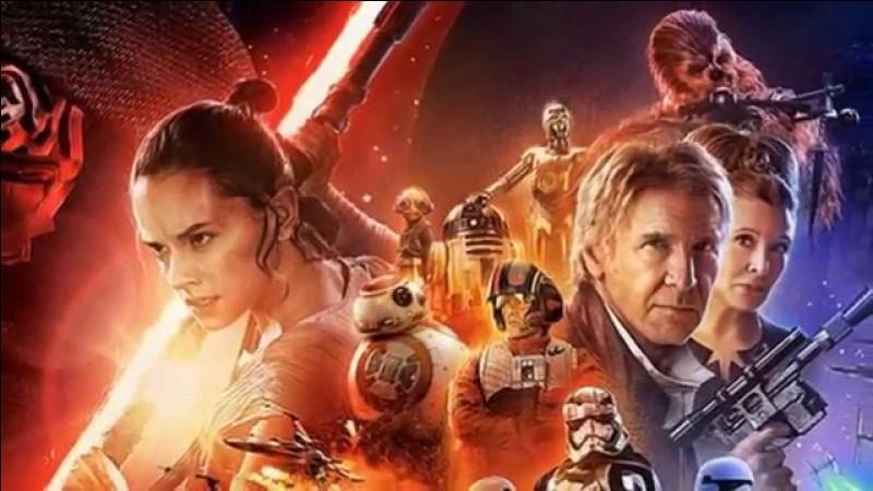 """Quel est le titre du premier volet de la troisième trilogie de """"Star Wars"""", sorti en 2015 ?"""