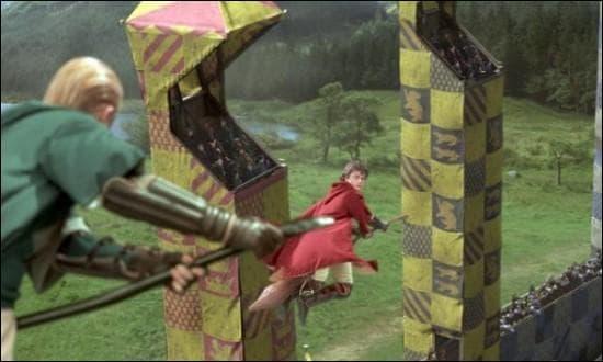 Qui a en fait ensorcelé le cognard qui a attaqué Harry ?