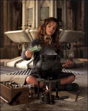 Que prépare Hermione ?