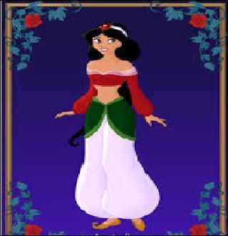 """Jasmine : """"On n'est pas là pour raconter notre vie, Cendrillon , tu m'aides à décorer le gâteau avec ............. ."""""""