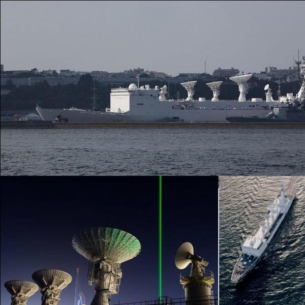 La France possède le navire de renseignements le plus puissant au monde (ou l'un des plus puissants). C'est le Monge !Quelle serait sa « puissance » de détection ?