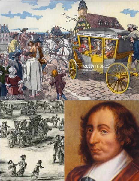 Bien sûr, à Paris, il existe des transports en commun. Ils sont de plusieurs formes (bus, métro, RER, Tramway). Un certain Blaise vous aidera peut-être à trouver votre chemin !Quand a été créé le premier système de transport en commun de Paris ?