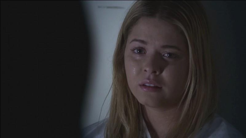 Que s'est-il passé entre Alison et Charlotte la nuit de sa mort, d'après les dires d'Ali ?