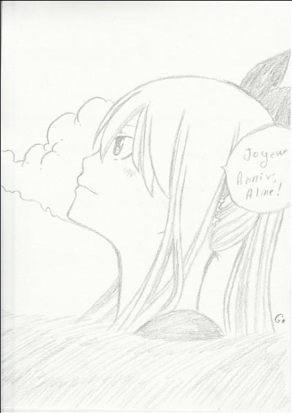 Lucy est amoureuse de Natsu.