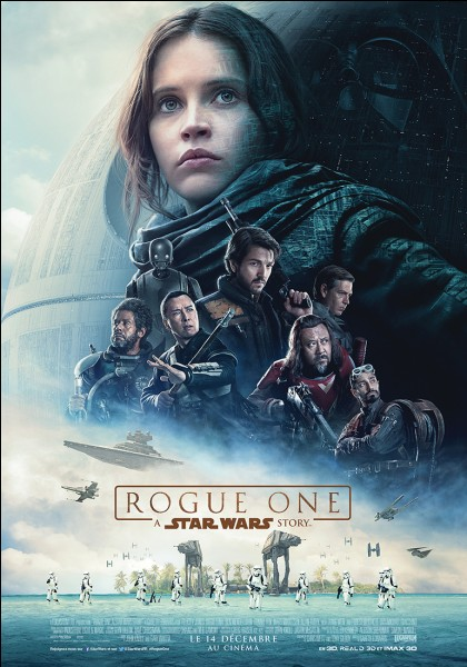 "Quand est sorti ""Rogue One : A Star Wars Story"" ?"