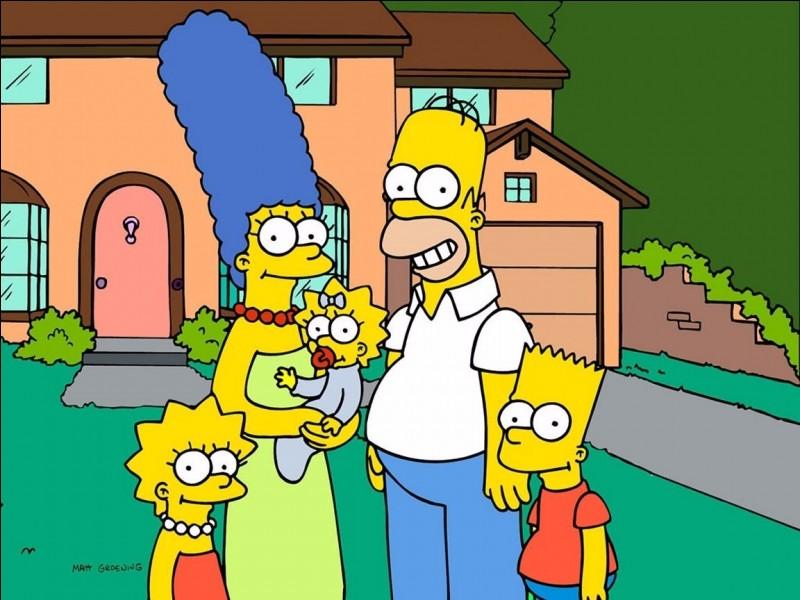 Pouvez-vous me dire comment se nomme la mère de famille chez les Simpson ?