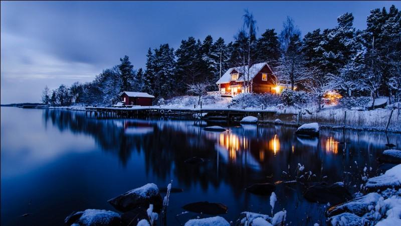 Quel est le drapeau de ce beau pays qu'est la Suède ?