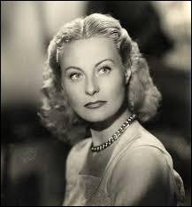 Cette actrice a tourné dans plus de soixante-dix films entre les années 30 et 80, il s'agit de...