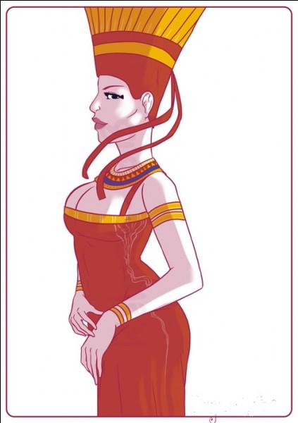 Déesse de la première cataracte, celle d'Assouan, responsable de la crue annuelle, fille (parfois épouse) du dieu Khnoum. Qui est-elle ?