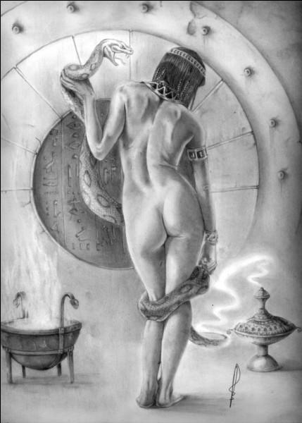 Grande magicienne et femme d'Osiris. Qui est-elle ?