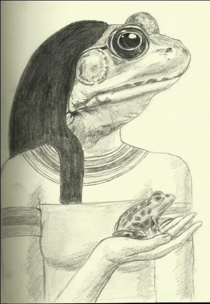 Toutes les femmes enceintes égyptiennes, portaient des amulettes représentant cette déesse. Qui est-elle ?